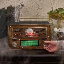 Animated Vintage Halloween Radio