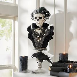 Karen Didion Mrs. Skeleton Bust