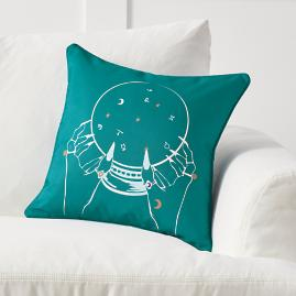 Crystal Ball Pillow