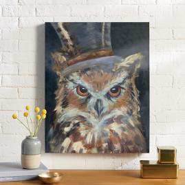 Ozwald Owl Wall Art