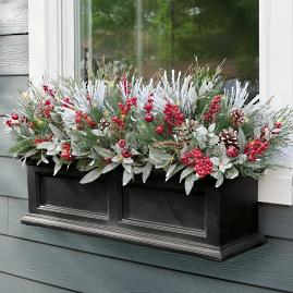 First Frost Cordless Window Box Filler