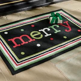 Merry Dots Door Mat