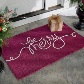 Be Merry Door Mat