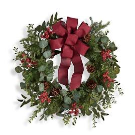 Eucalyptus Wreath with Bow