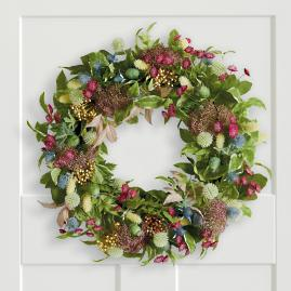 Farmhouse Floral Wreath