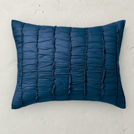 Ashlyn Ruched Cotton Sham