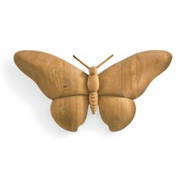 Carved Teak Butterfly