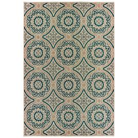 Arwen Grey Suzani Outdoor Rug