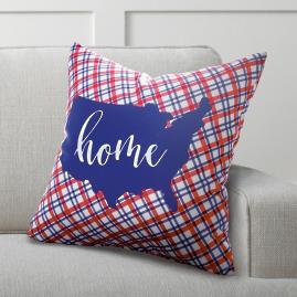 Patriotic Home Pillow
