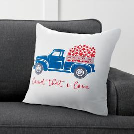 Land that I Love Truck Pillow