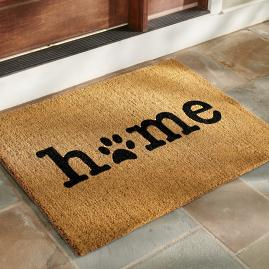 Home Paw Coir Door Mat