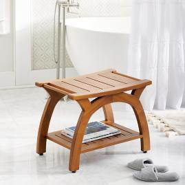 Liza Teak Shower Bench