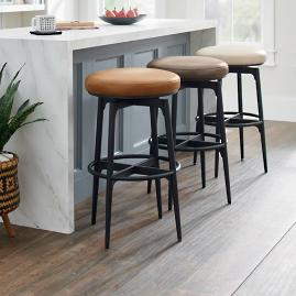 Luka Swivel Bar & Counter Stool