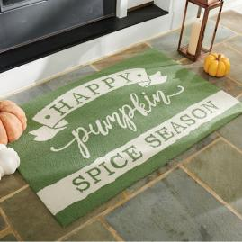 Pumpkin Spice Door Mat