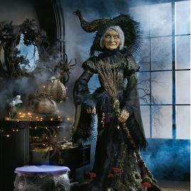 Katherine's Collection Lifesize Midnight Witch