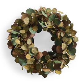 Mossy Leaf Wreath
