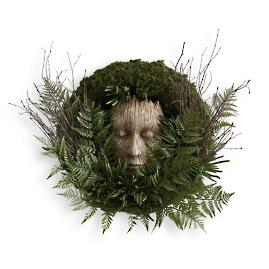 Forest Face Wreath