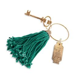 Haunted Hotel Key Ring