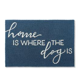 Dog Expression Hooked Door Mat