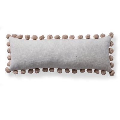Esme Pom Pillow - Blue 18 X 18 - Grandin Road
