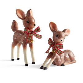 Nostalgic Deer, Set of Two