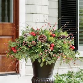 Hadley Holiday Cordless Urn Filler