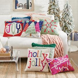 Oh What Fun Pillows