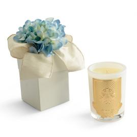 Lux Everyday Candle, Blue Hydrangea