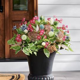Farmhouse Floral Urn Filler