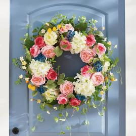 All Abloom Wreath