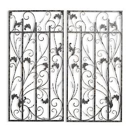 Balmoral Gate Wall Decor, Set of Two