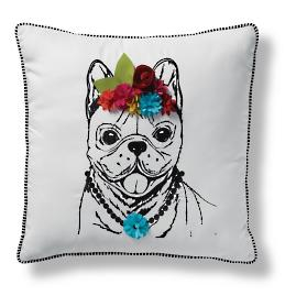 Poochie Outdoor Pillows