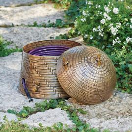 Bee Skep Hose Pot