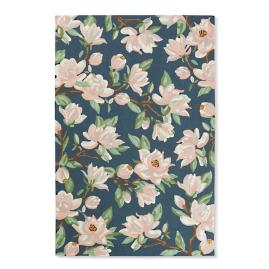 Blossom Magnolia Hooked Outdoor Rug & Mat