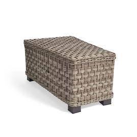 Alliance Wicker Wedge Table