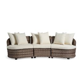 Alliance Wicker Sectional Sets