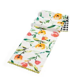 Floral Reversible Table Runner