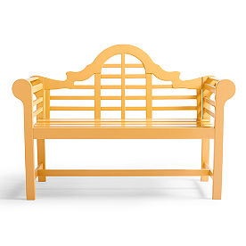 Lutyens Wooden Outdoor Bench
