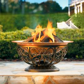 Outdoor Copper Fire Pit