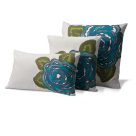Flower Outdoor Throw Pillows