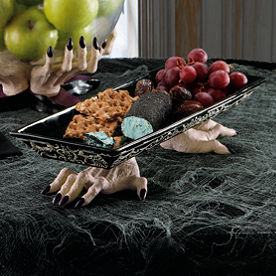 Spooky Witch's Hands Serving Tray