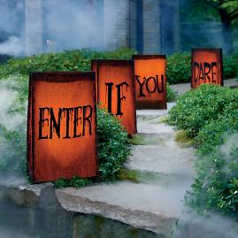 """Enter If You Dare"" Luminaries"