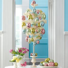 Martha Stewart Feather Egg Tree