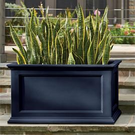 Devon Easy-Care Rectangular Planter