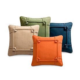 Knotted Indoor Throw Pillow