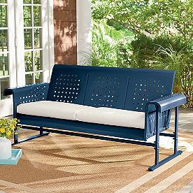 Retro Squares Glider Sofa