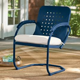 Genial Retro Squares Spring Chair