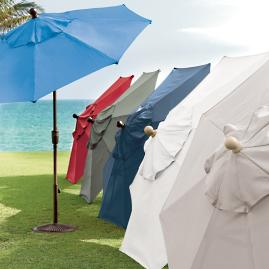 Octagonal Outdoor Market Umbrella