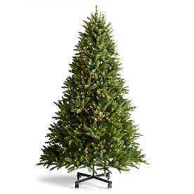 Instant Shape Grand Fir Christmas Tree with FlipTree Stand