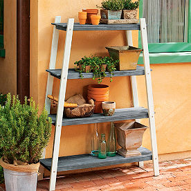 Vintage Storage Shelf